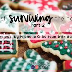 Not just surviving the holidays: Part 2
